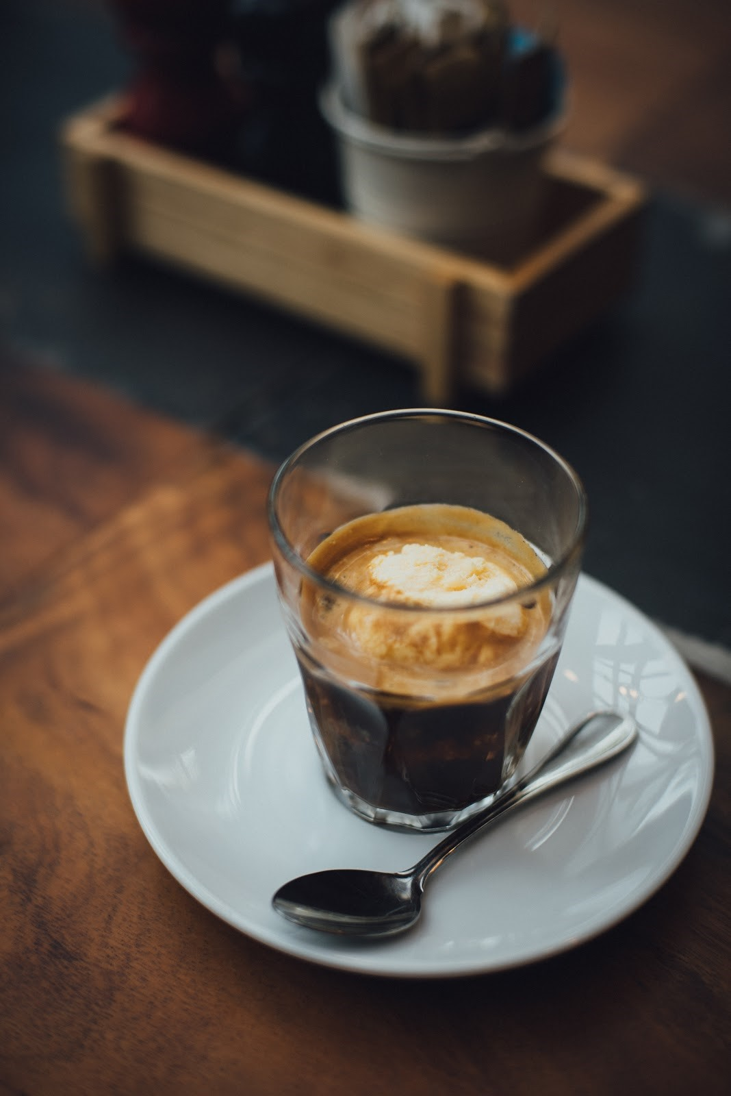 all types of coffee drinks